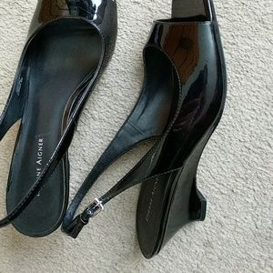 Etienne Aigner Patent Leather Slingback Pumps ebay cheap online fake cheap price clearance deals buy cheap top quality extremely sale online 5g5L5LCw